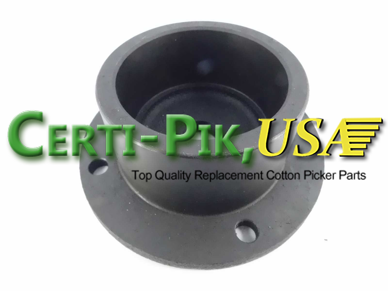 Picking Unit System: John Deere Upper Doffer Adjustment Housing and Sprockets Assembly N114205 (14205) for Sale