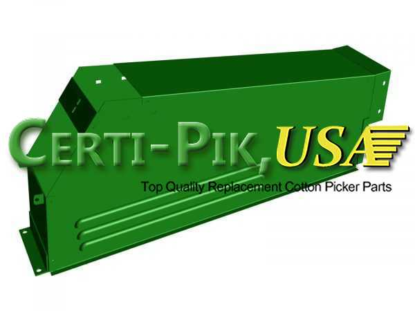 Air System: John Deere Front & Rear Suction Door Parts (Hi Drum) AN114217 (14217L) for Sale