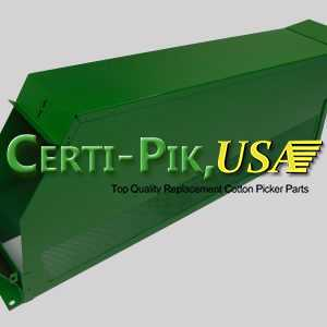 Air System: John Deere Front & Rear Suction Door Parts (Hi Drum) AN114827 (14827L) for Sale