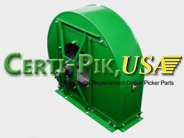 Air System: John Deere 2 Row Fan Assembly 15233A (15233A) for Sale