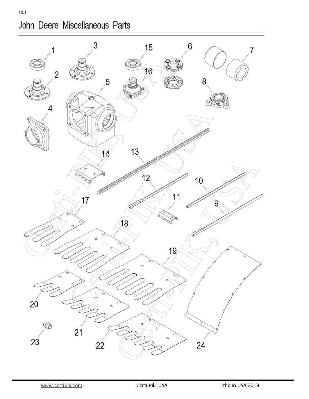 72787P-10 - John Deere Miscellaneous Parts