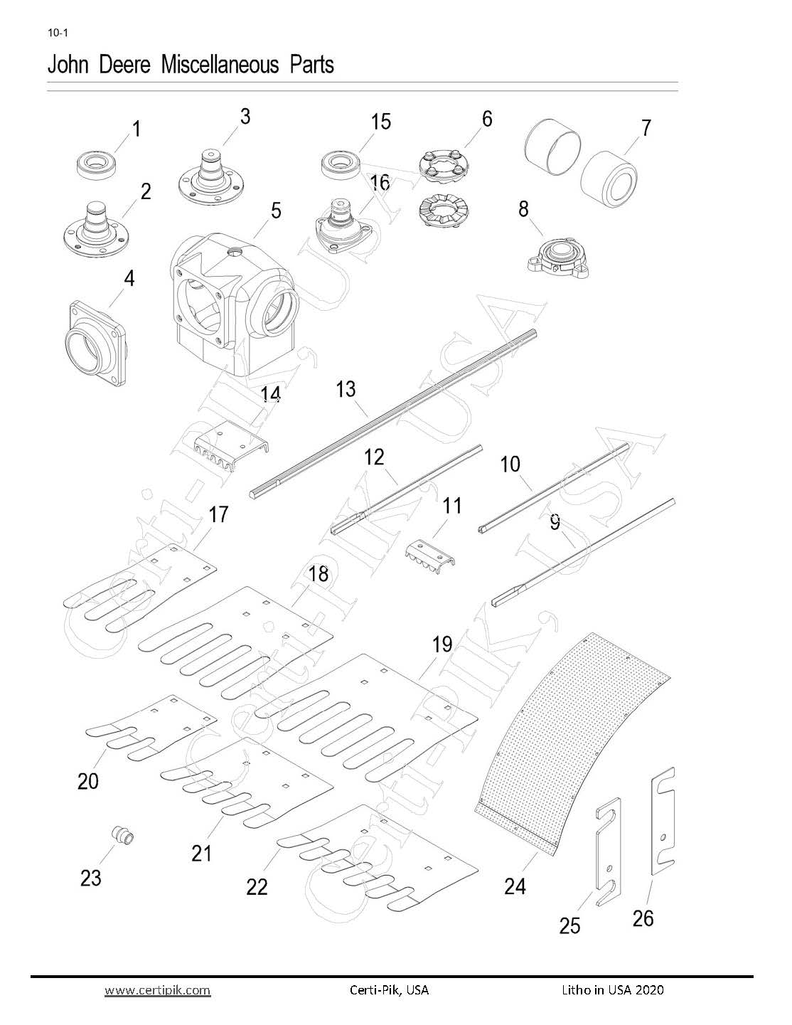 John Deere Miscellaneous Parts