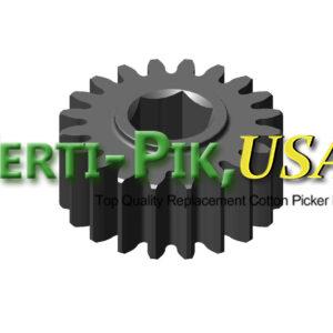 Picking Unit System: John Deere Upper Doffer Adjustment Housing and Sprockets Assembly N273954 (73954) for Sale