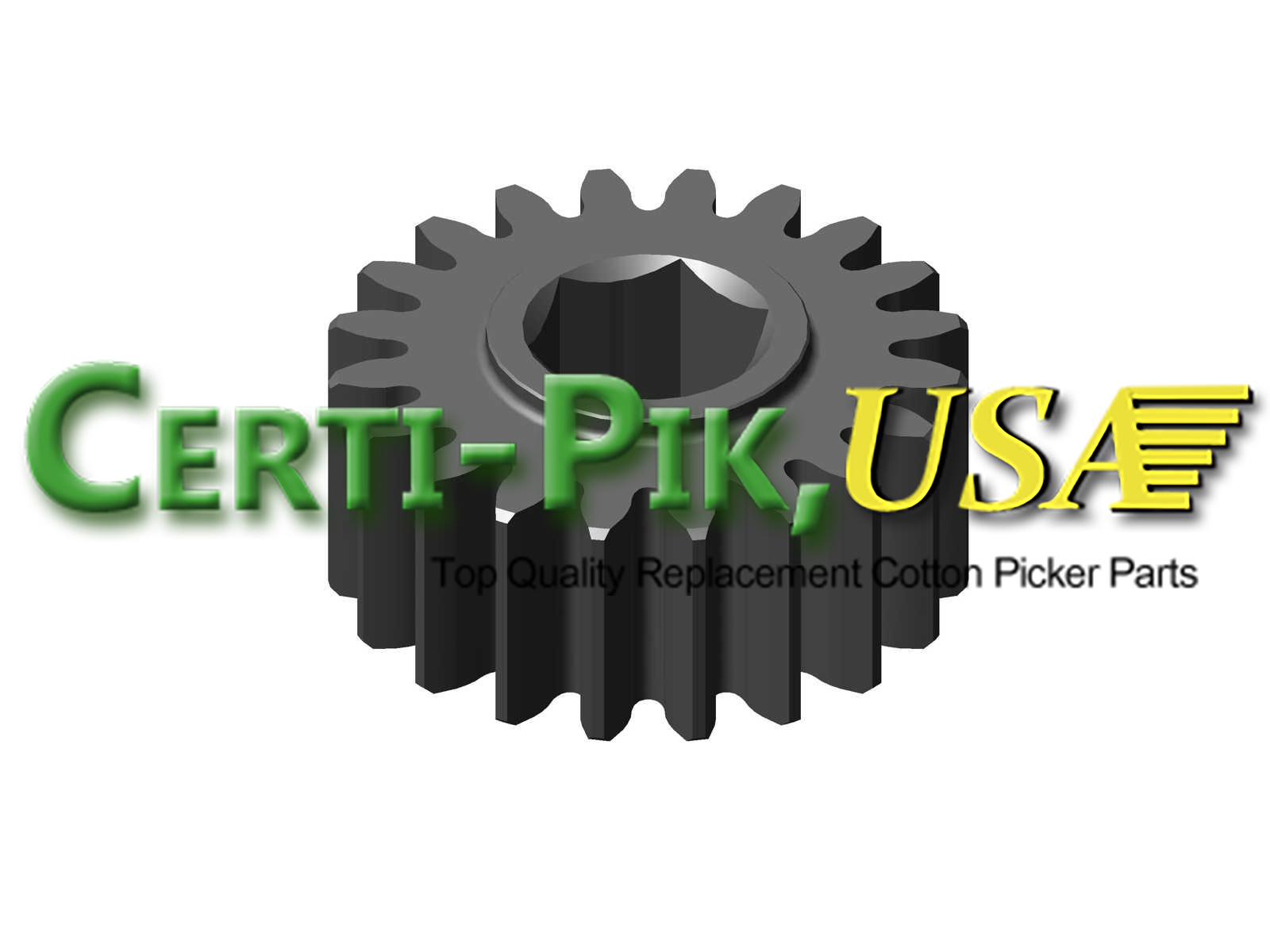 Picking Unit System: John Deere Upper Doffer Adjustment Housing and Sprockets Assembly N273954 (73954) for Sale