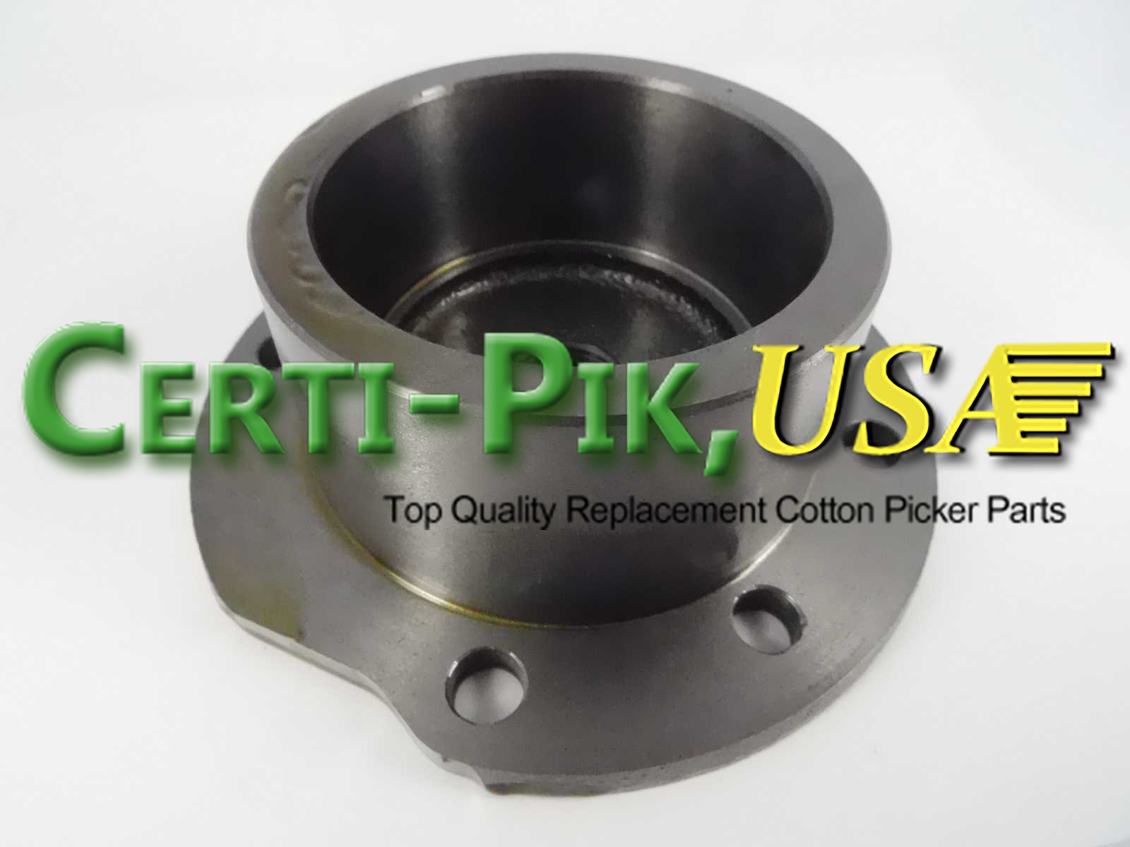 Picking Unit System: John Deere Upper Doffer Adjustment Housing and Sprockets Assembly N275853 (75853) for Sale