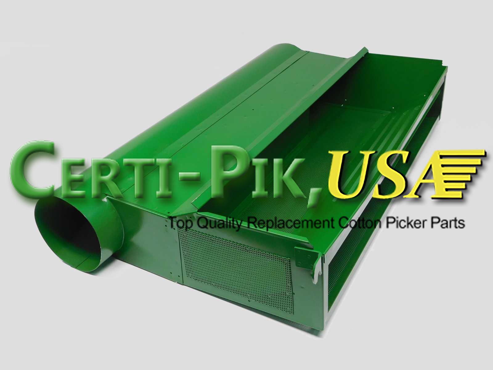 Air System: John Deere Front & Rear Suction Door Parts (Hi Drum) AN190797 (90797L) for Sale