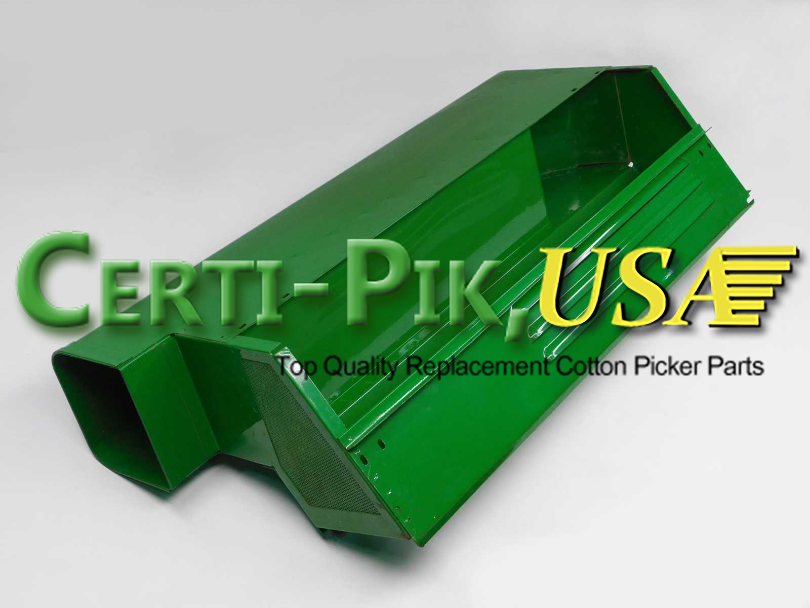 Air System: John Deere Front & Rear Suction Door Parts (Hi Drum) AN191116 (91116R) for Sale