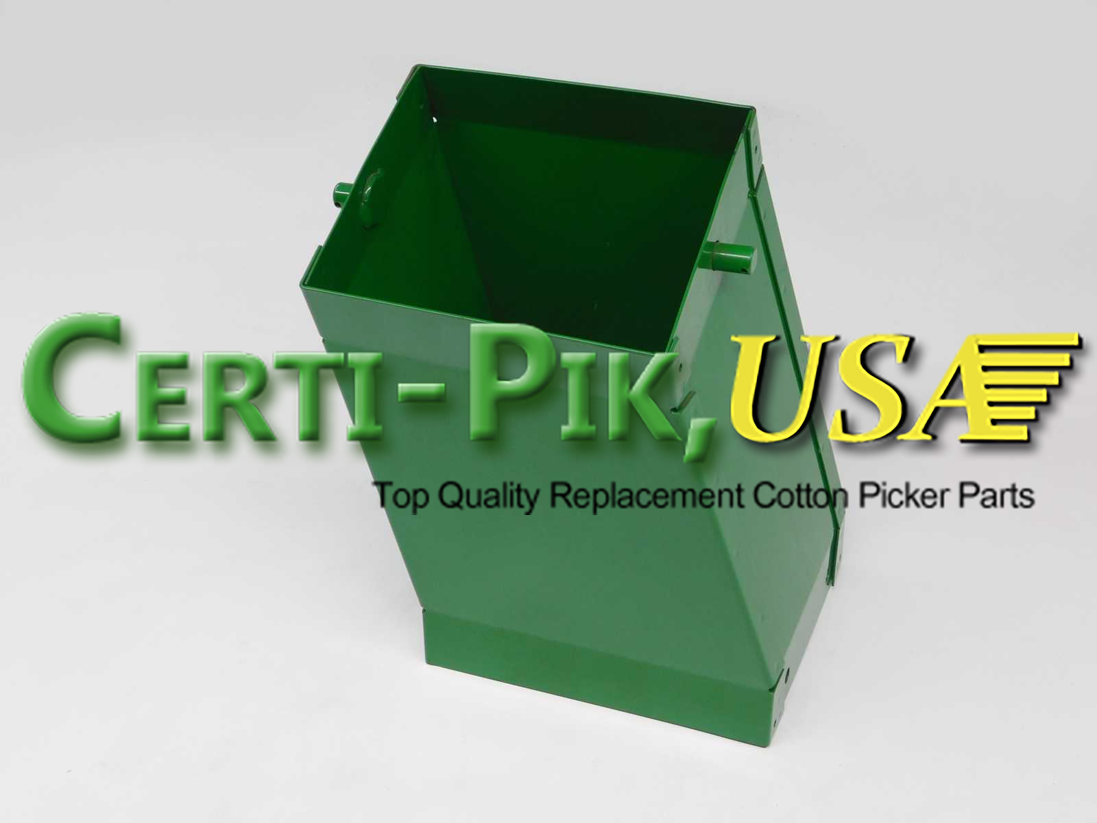 Air System: John Deere Front & Rear Suction Door Parts (Hi Drum) AN192718 (92718R) for Sale