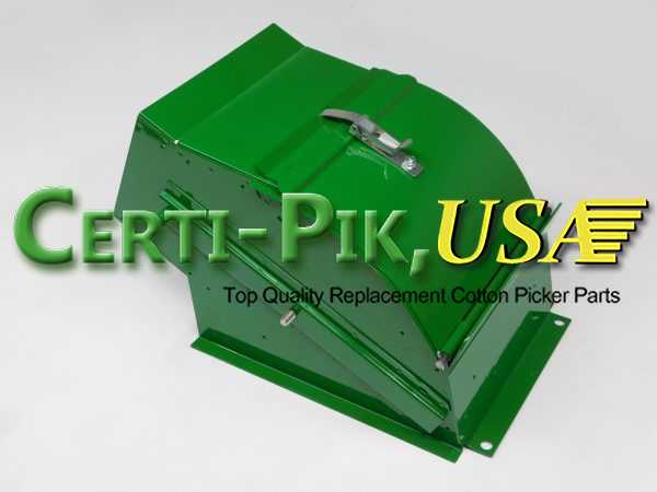 Air System: John Deere 9935-65 In-Line Suction Door Parts AN193420 (93420) for Sale