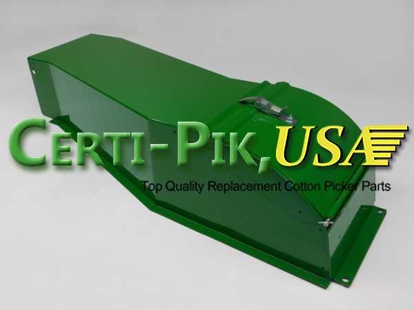 Air System: John Deere 9935-65 In-Line Suction Door Parts AN195147 (95147) for Sale