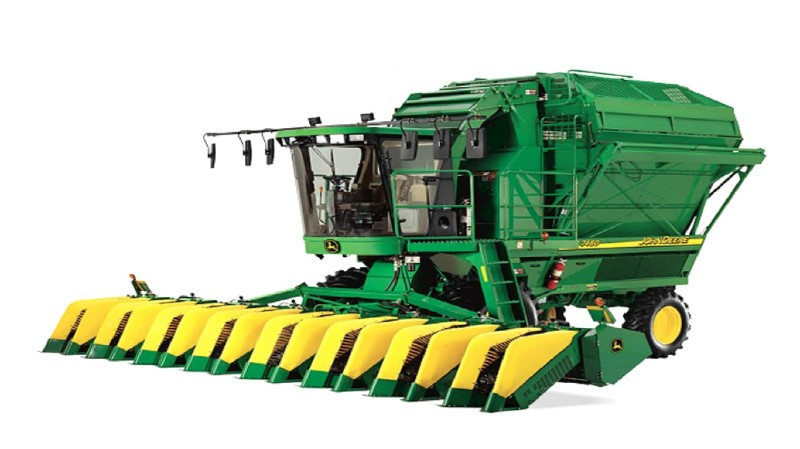 John Deere Cotton Pickers